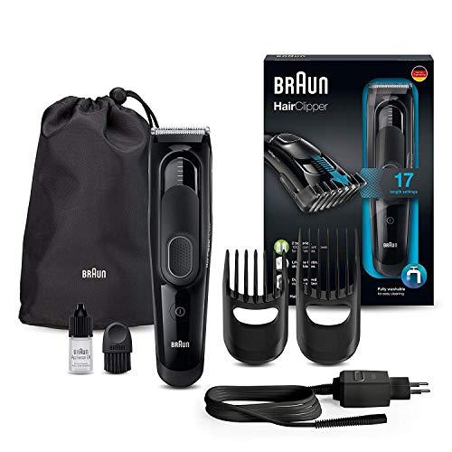 Braun Haarschneider HC5050 - Ultimatives Haarschneide-Erlebnis von Braun in 17 Längen