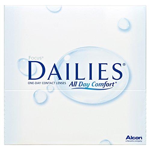 Focus Dailies All Day Comfort Tageslinsen weich, 90 Stück / BC 8.6 mm / DIA 13.8 / -2,50 Dioptrien
