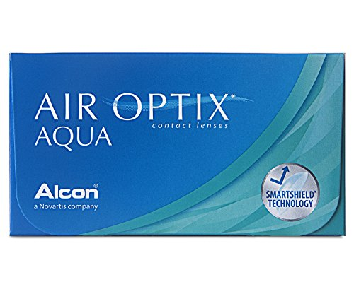 Air Optix Aqua Monatslinsen weich, 6 Stück / BC 8.6 mm / DIA 14.2 / -1,75 Dioptrien