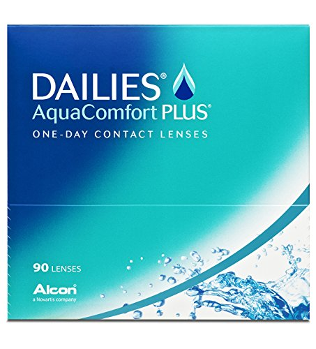 Dailies AquaComfort Plus Tageslinsen weich, 90 Stück / BC 8.7 mm / DIA 14.0 / -2,75 Dioptrien