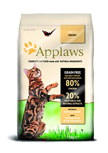 Applaws Katze Trockenfutter mit Hühnchen, 1er Pack (1 x 7,5 kg)