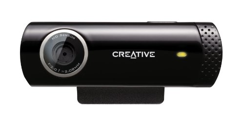 Creative LIVE! Cam Chat HD (USB-Webcam mit integriertem Mikrofon)