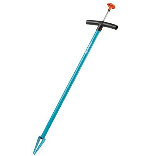 Gardena Unkrautstecher: Unkrautentferner für effizientes Entfernen von Unkraut, mit Auswerfer, aus gehärtetem Stahl, duroplastbeschichtet (3517-20)