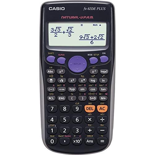 Casio FX-82DE Plus technisch-wissenschaftlicher Rechner mit natürlichem Display