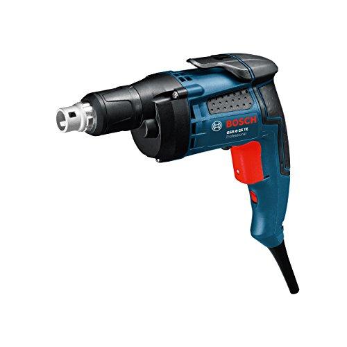 Bosch Professional GSR 6-25 TE, 701 W Nennaufnahmeleistung, 6,0 mm Bohrschrauben-Ø, 20 Nm Drehmoment, Tiefenanschlag, Magnetischer Universalhalter, Koffer