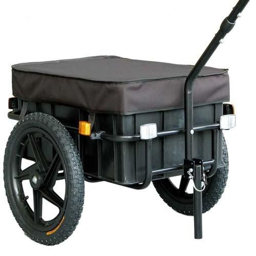 """TIGGO 16"""" Lastenanhänger & Handwagen Fahrradanhänger 60kg Zuladung"""