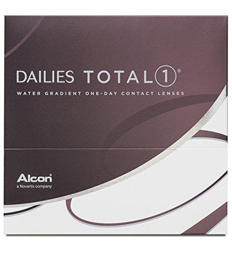 Dailies Total 1 Tageslinsen weich, 90 Stück / BC 8.5 mm / DIA 14.1 / -1,75 Dioptrien