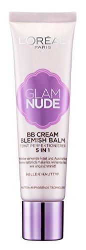 L'Oréal Paris Glam Nude 5in1 BB Cream Blemish Balm, 30 ml