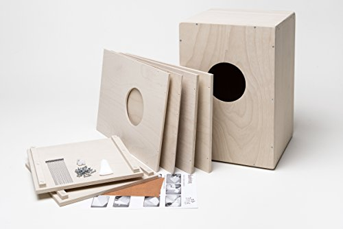 Cajon, Cajon Komplett Bausatz mit Snare incl. Kurzlehrgang, made in Germany