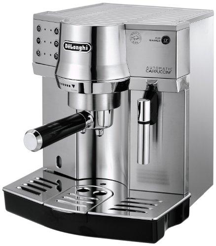 De'Longhi EC 860.M Espresso-Siebträgermaschine (1450 W) silber