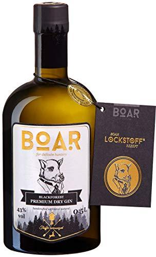 Boar Blackforest Premium Dry Gin / Gin des Jahres (ISW2019) / höchstprämierter Gin der Welt / Kleine Schwarzwälder Familienbrennerei seit 1844 / Wacholder-, Lavendel- & Zitrustöne