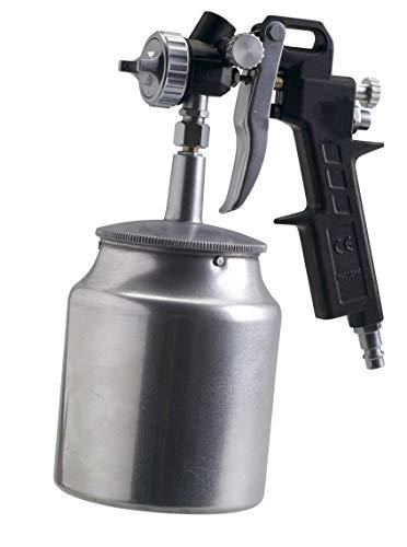 FERM Farbspritzpistole - Unterbecher - 750cc - 4.5 bis 6 bar