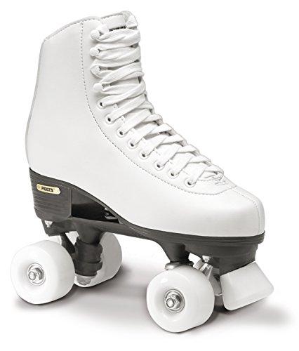 Roces Erwachsene RC1 Classicroller Rollerskates Rollschuhe Artistic, weiß, 39