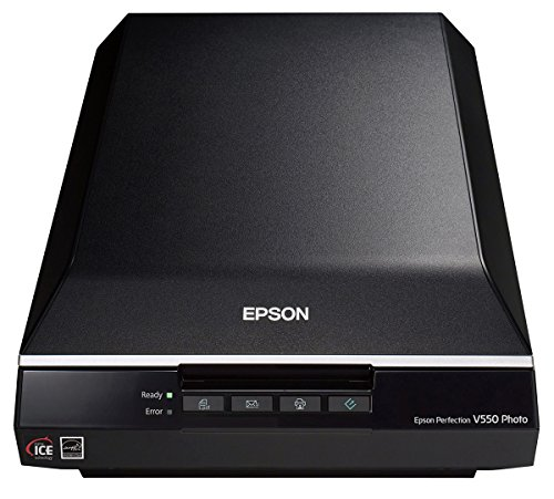 Epson Perfection V550 Photo Flachbettscanner (4800 dpi, USB 2.0)