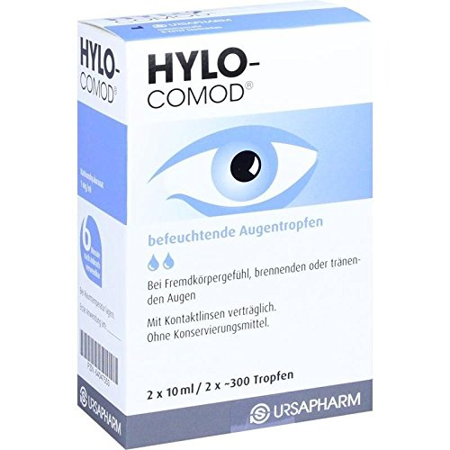 HYLO COMOD Augentropfen, 20 ml Lösung