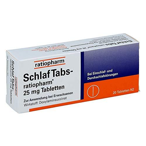 SchlafTabs-ratiopharm, 20 St. Tabletten