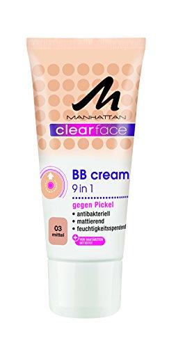 Manhattan Clearface BB Cream 03, 1er Pack (1 x 25 ml)