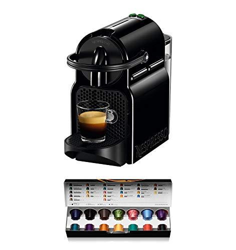 De'Longhi Nespresso Inissia EN 80.B | Hochdruckpumpe | Energiesparfunktion | kompaktes Design | Schwarz