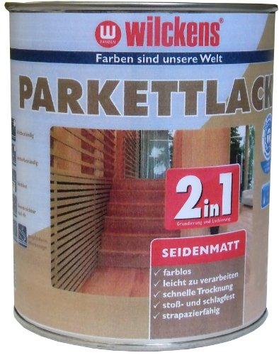 Wilckens 2in1 Parkettlack seidenmatt, farblos, 2,5 Liter 12400100080