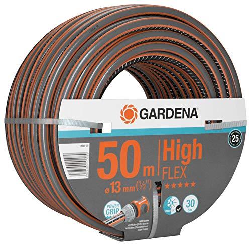 """Gardena Comfort HighFLEX Schlauch 13 mm (1/2""""), 50 m, Grau/Orange"""