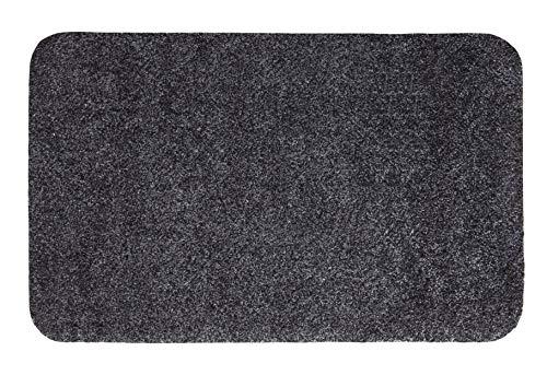 andiamo Schmutzfangmatte Samson waschbare Fußmatte für den Innenbereich, 50 x 80 cm anthrazit