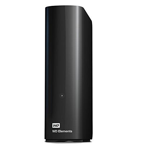 Western Digital 4 TB Elements Desktop externe Festplatte USB3.0 -WDBWLG0040HBK-EESN