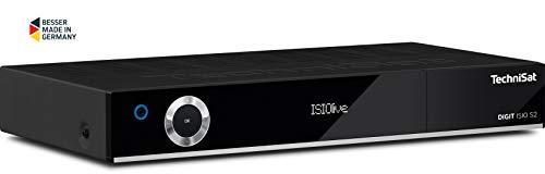 TechniSat DIGIT ISIO S2 - HD-Satellitenreceiver (mit PVR-Aufnahmefunktion via USB oder im Netzwerk, Mit passendem CI+ Modul Sky tauglich)