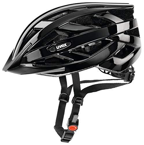 uvex Unisex- Erwachsene, i-vo Fahrradhelm, black, 52-57 cm