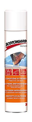 """3M Scotchgard Protector """"Universal Outdoor"""" Imprägnierspray - Imprägnierung für Stoff, Textil & Leder im Outdoor-Bereich - 400 ml - Transparent"""