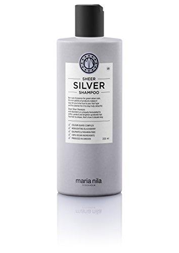 Maria Nila Sheer Silver Shampoo, 1er Pack (1 x 350 ml)