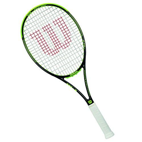 Wilson Tennisschläger Damen/Herren, Attacker, Anfänger und Fortgeschrittene, Blade 101 L, Größe 2, Black/Lime
