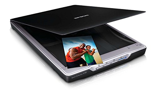 Epson Perfection V19 4800 х 4800 Flachbettscanner Schwarz A4 - Scanner (216 x 297 mm, 4800 х 4800, 24 Bit, 48 Bit, 10,4 Sekunde/Seite, Flachbettscanner)