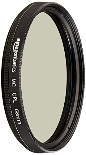 AmazonBasics Zirkularer Polarisationsfilter - 58mm