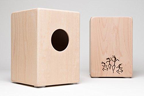Cajon für Kinder, Kindercajon, Junior Box, Trommel, Hocker, Made in GERMANY incl. Kurzlehrgang