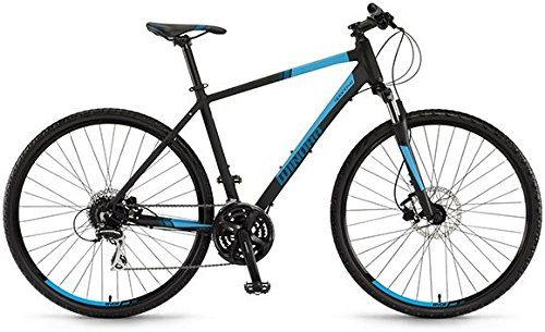 Winora Yacuma 28 Zoll Crossbike Schwarz/Blau Matt (2016), 51