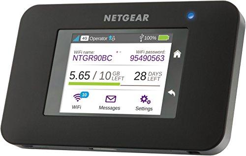 NETGEAR Aircard AC790-100EUS LTE Router/mobiler WLAN Router (4G Router, WiFi Hotspot, mit bis zu 300 Mbit/s, ohne SIM-Lock)