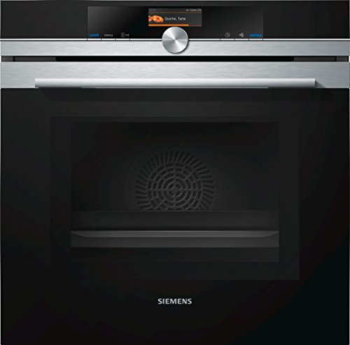 Siemens iQ700 Einbau-Elektro-Backofen mit Mikrowelle HM676G0S6 / Edelstahl / A+ / activeClean Selbstreinigungs-Automatik / varioSpeed / cookControl Plus vollautomatisches Braten