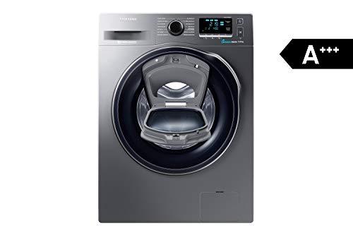 Samsung WW80K6404QX/EG Waschmaschine FL/A+++/116 kWh/Jahr/1400 UpM/8 kg/Add Wash/WiFi Smart Control/Super Speed Wash/Digital Inverter Motor