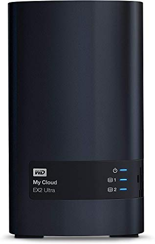 Western Digital 4 TB My Cloud EX2 Ultra-Netzwerkspeicher