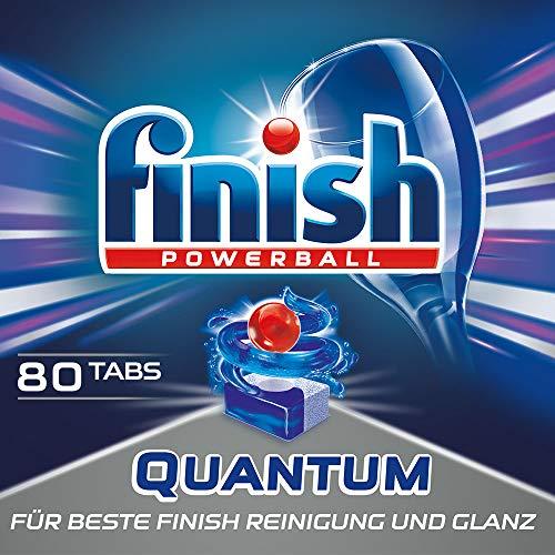 Finish Quantum Spülmaschinentabs, Sparpack, 80 Tabs