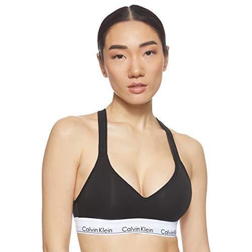 Calvin Klein Damen Bustier Bralette Lift, Schwarz (Black 001), S