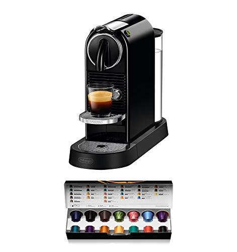De'Longhi Nespresso EN167.B Citiz Kapselmaschine | Hochdruckpumpe und perfekte Wärmeregelung | Energiesparfunktion |schwarz