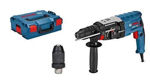 Bosch Professional Bohrhammer GBH 2-28 F (SDS-plus-Wechselfutter, 13 mm Schnellspannbohrfutter, bis 28 mm Bohr-Ø, Rückschlag-Schutz, L-Boxx)