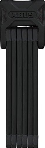 ABUS AB72983 Bordo 6000/90 Vorhängeschloss, schwarz, 90 cm Länge