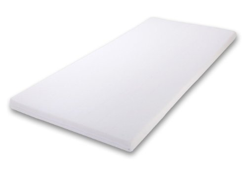 Kinderbettmatratze, Babymatratze 60x120 cm Kinder-Rollmatratze (Weiß-1)