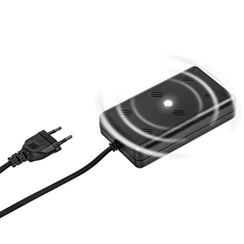 Gardigo Marder-Frei Indoor LED I Marderabwehr für Haus, Garage und Dachboden I Marderschutz mit Ultraschall I Marderschreck 230 V mit Netzstecker