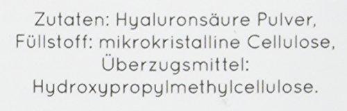 NATURE LOVE® Hyaluronsäure Kapseln - Hochdosiert: 500mg - Vergleichssieger 2020/2019* - Vegan - 90 Stück (3 Monate) - 500-700 kDa - Jede Charge laborgeprüft, hergestellt in Deutschland
