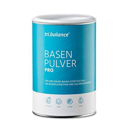 tri.balance Basenpulver Pro 300 g - 1er Pack I Mit Zink zur Entsäuerung I Für die Säure-Basen-Balance I vegan