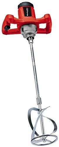 Einhell Farb-Mörtelrührer TC-MX 1200 E (1.200 W, 680 min-1, Drehzahl-Elektronik, ergonomische Handgriffe, M14-Gewinde, inkl. Rührer für Mörtel Ø 100 mm)