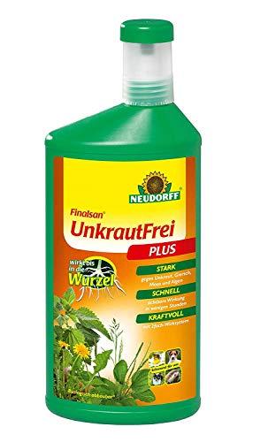 Neudorff Finalsan Konzentrat Unkraut Frei Plus 1 Liter - biologisch abbaubar & nicht bienengefährlich
